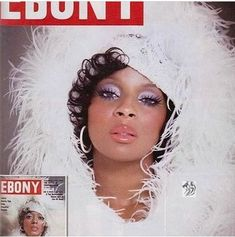 Mary J. Blidge as Diana Ross. via Ebony magazines