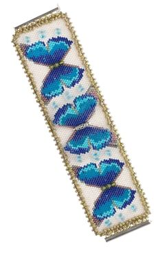 Bracelet with Swarovski® Crystal Beads and Delica® Glass Seed Beads - Fire Mountain Gems and Beads