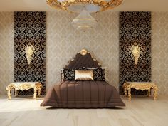 Royal bedroom luxury mater suite