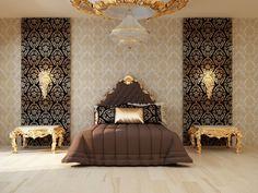 Royal bedroom luxury mater suite