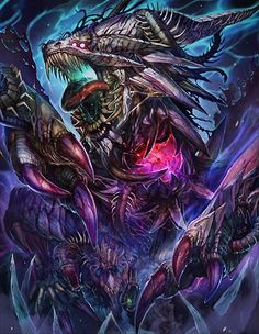 Artist: Unknown name aka Fujiyama Monta - Title: Unknown - Card: Zombified Nidhogg (Infected) Dragon Images, Dragon Pictures, Monster Design, Monster Art, Fantasy Dragon, Fantasy Art, Fantasy Creatures, Mythical Creatures, Cool Dragons