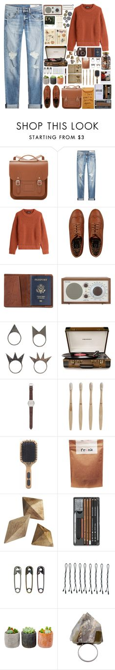 """""""Heaven Knows I'm Miserable Now"""" by annaclaraalvez on Polyvore featuring moda, The Cambridge Satchel Company, rag & bone, Dsquared2, TOMS, Tivoli Audio, NLY Accessories, Guide London, Home Decorators Collection e J.Crew"""