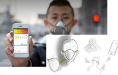 frog design air pollution mask - Google Search