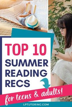 It's summer and we all have way more time on hands this year. Check out these Summer Reading 2020 picks that will keep teens and adults entertained! | #summerreading #parentingteens via @lptutoring Social Studies Lesson Plans, Math Lesson Plans, Summer Reading Lists, Beach Reading, Educational Activities For Kids, Middle Schoolers, Books For Teens, Parenting Teens, Teaching Tools