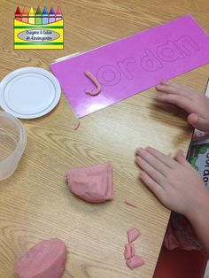 It's All In A Name!  Using Children's Names In The Beginning of Kindergarten!  Playdoh name mats