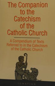COMPANION TO THE CATECHISM OF THE CATHOLIC CHURCH. Paper. $39.95