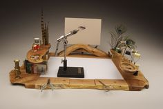 fly tying tools, fly tying bench, fly tying, forest to fly, … – Fishing Ideas Fly Tying Supplies, Fly Tying Tools, Fly Tying Vises, Fly Tying Desk, Fly Fishing Gear, Fishing Lures, Fishing Stuff, Ice Fishing, Trout Fishing