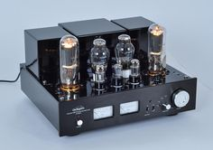 Line Magnetic Tube Amplifier LM-508IA Integrated/power amplifier 300B push 805 tube Class A 48W*2