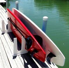 Stand Up Paddle Board Storage For Docks #savannahrealestate #docklife