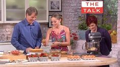 Baking with Chef Marcela on The Talk show 5-21-13