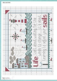 Readly - CrossStitcher - 76 - CrossStitcher is Britain's number one cross stitch magazine, and it's packed with beautiful designs for you to sti Cross Stitch Magazines, Craft Free, Cross Stitching, Embroidery Patterns, Needlework, Projects To Try, Crafts, Gallery, Beach