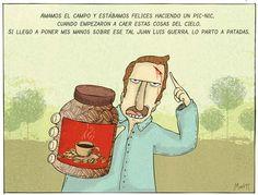 Un Poco de Cada Dia: Ojala que llueva cafe en el campo