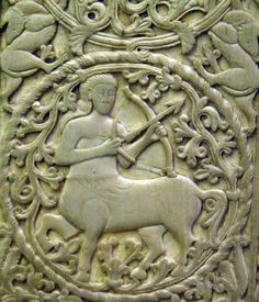 Le Sagittaire (ivoire, Italie du nord, vers 900)