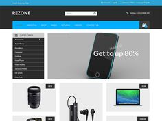 Rezone – Electronics eCommerce Bootstrap Template by DevItems