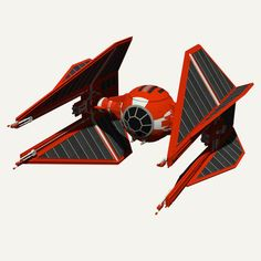 Royal Guard TIE Interceptor | 3D model