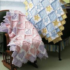 Baby Rag Quilt With Easy Video Tutorial | Rag quilt, Baby rag ... : baby rag quilts instructions - Adamdwight.com