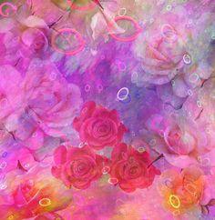 Dream roses in pastels