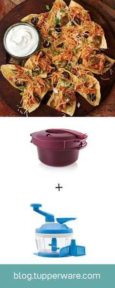 Shredded Chicken Nachos. One of our latest tools to enter the microwave cooking game is the Microwave Pressure Cooker. It's an unbelievably fast way to achieve flavorful, juicy meals.