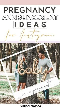 And when you're strategizing how to go public with your pregnancy news, you'll undoubtedly want to take to Instagram with a sweet photo and memorable caption. Here are some catchy, classic, and even funny pregnancy announcement post ideas for Instagram we really like which you might find very inspiring. #pregnancyannouncementideas #pregnancyannouncementideasoninstagram #cutepregnancyannouncement Pregnancy Stages, Pregnancy Humor, Pregnancy Workout, Pregnancy Tips, Fun Pregnancy Announcement, Birth Announcements, Advice For New Moms, Pregnancy Information, Pregnant Diet