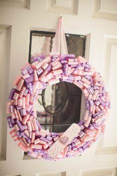 decor-wreath (Doc Mcstuffins party)