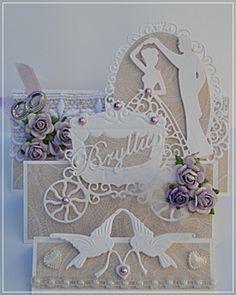 Velkommen inn: Enda et brettekort,denne gangen til bryllup:)