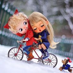 In a word his existence, let me feel to feel at ease ♥️❄️❄️ #blythe #customblythe #ooakblythe