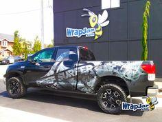 WrapJax.com - REEF SURFER vehicle wrap on Toyota Tundra. #wrapjax