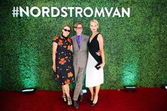 Vogue's Lisa Love in Rodarte, Hamish Bowles, and Amber Valletta in Roland Mouret