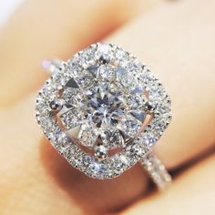 A truly beautiful diamond engagement ring #armstrongrockwell