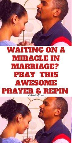 Miracle Prayer, God Jesus, Catholic, Waiting, Prayers, Faith, Awesome, Inspiration, Weddings