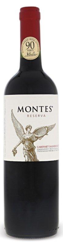 Montes wine Cabernet Sauvignon Reserva  www.vinopredaj.sk