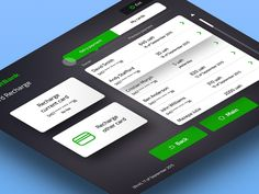 Privat Terminal Kiosk — Recharge Card Screen Animation by Alty