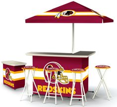 Get set for summer outdoor entertaining with a #Redskins twist. #HTTR #LiveIt
