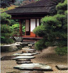 Japanese Garden – The Miracle Of Zen Culture! Japanese Garden – The Miracle Of Zen Culture! Asian Garden, Japanese Rock Garden, Japanese Tea House, Traditional Japanese House, Japanese Garden Design, Japanese Gardens, Japanese Style, Japanese Landscape, Zen Gardens