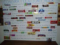 Graduation Candy Bar Card for Nick