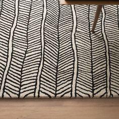 Herringbone Rug - Black | Rugs | Accessories