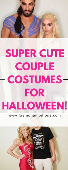 Super Cute Couple Costumes For Halloween!
