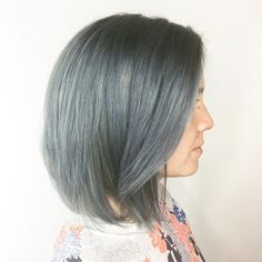 Grey. Titanium and pewter #titanium #greyhair #hair #client #newdo #alexandriava #alexandria @salondezen @joicointensity #metallicmuse #pewter #salondezen #oliviadezen #kevinmurphy #crueltyfree #crueltyfreebeauty #joico #joicotitanium #joicointensity #joicometallics #metallic #nofilter #northernva