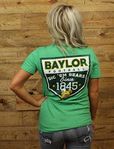 Sic 'Em Bears Since 1899 and will never stop! Go Baylor!!