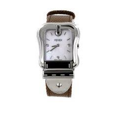 7d09c63987 Fendi B. Fendi Ladies Large MOP Diamond Quartz Watch - F382014521D1 Diamond  Quartz, Pearl