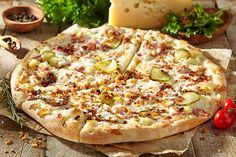 Recipes Using Ham, Cuban Recipes, Pizza Recipes, Snack Recipes, Copycat Recipes, Yummy Recipes, Snacks, Homemade Pizza Crust Recipe, Easy Homemade Pizza