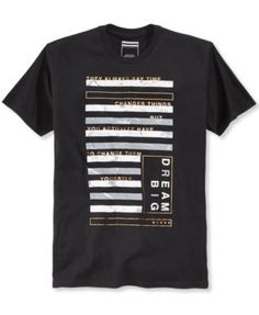 175576487 Sean John Men's Marble Bars Graphic-Print T-Shirt, Created for Macy's &  Reviews - T-Shirts - Men - Macy's
