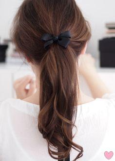 anne makeup®: mural de beauté: penteado rápido e bonito: rabo de cavalo