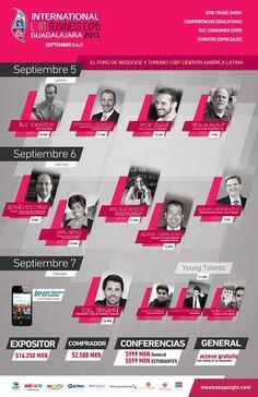 Conferencias en Expo LGBT 2013
