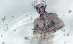 Rowan Whitethorn by pablob- Heir of Fire. Queen of Shadows. Empire of Storms. Sarah J Maas