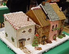 gingerbread row houses - Google Search