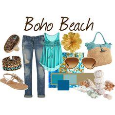 Boho Beach/turq love!!  #boho  #beach - ☮k☮