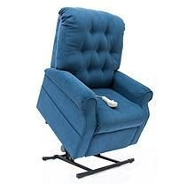 Mega Motion Easy Comfort LC-200 Power Recline and Lift Chair - Navy