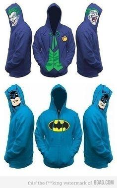 Batman Hoodie. I want this!