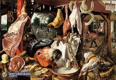 La peinture flamande - 6ème partie : Pieter Aertsen | lesmaterialistes.com